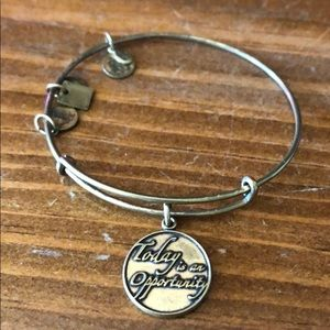 """Alex and Ani: """"Today is an Opportunity"""" bracelet"""